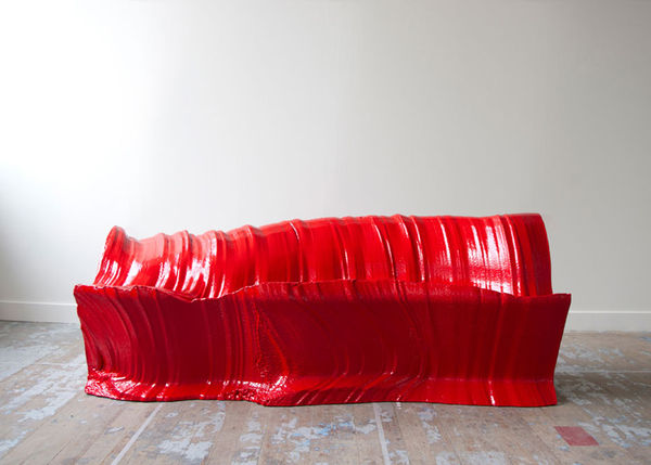 Wire-Cut Sofas