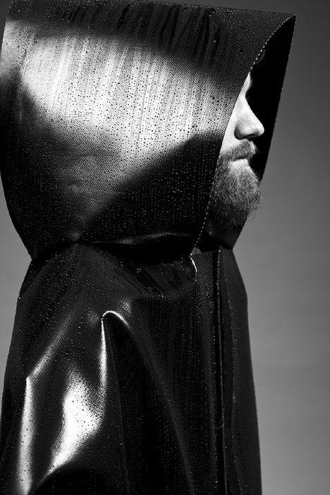 Sculptural Dystopian Rainwear