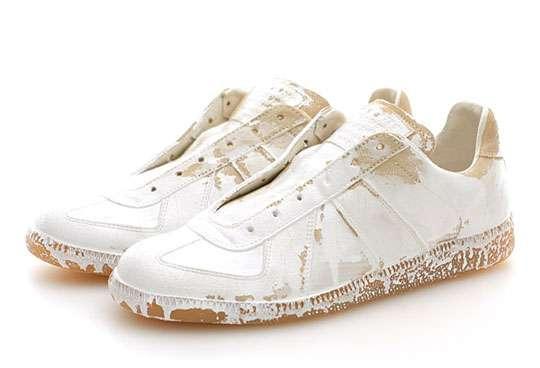 Paint-Splattered Kicks