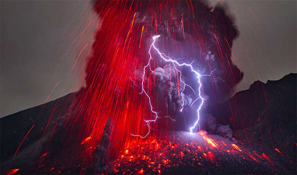 Electrifyingly Eruptive Volcanic Photography