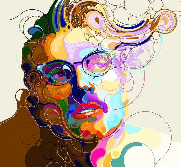 Abstractly Compounded Portraits