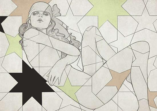 Feminine Pencil Sketches