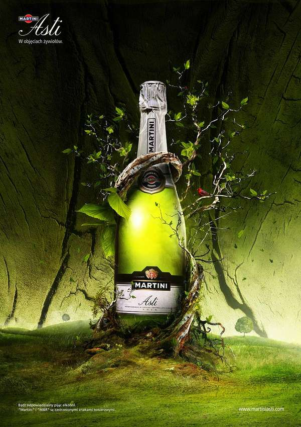 Artistic Alcohol Ads