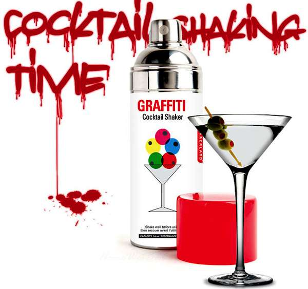 Graffiti Cocktail Mixers