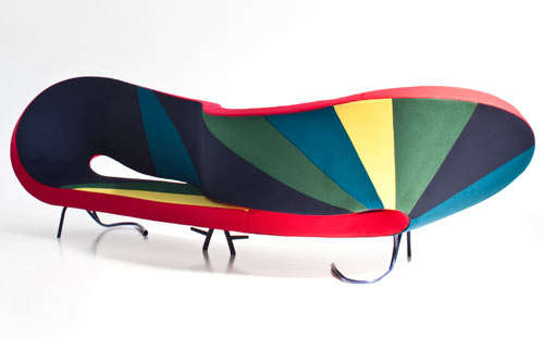 Vibrantly Sculptural Furniture