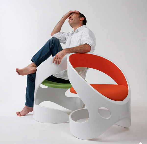 Curvaceous Cutout Seating