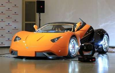 Fiery Eco Supercars