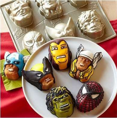 Marvel Comics Baking Kits
