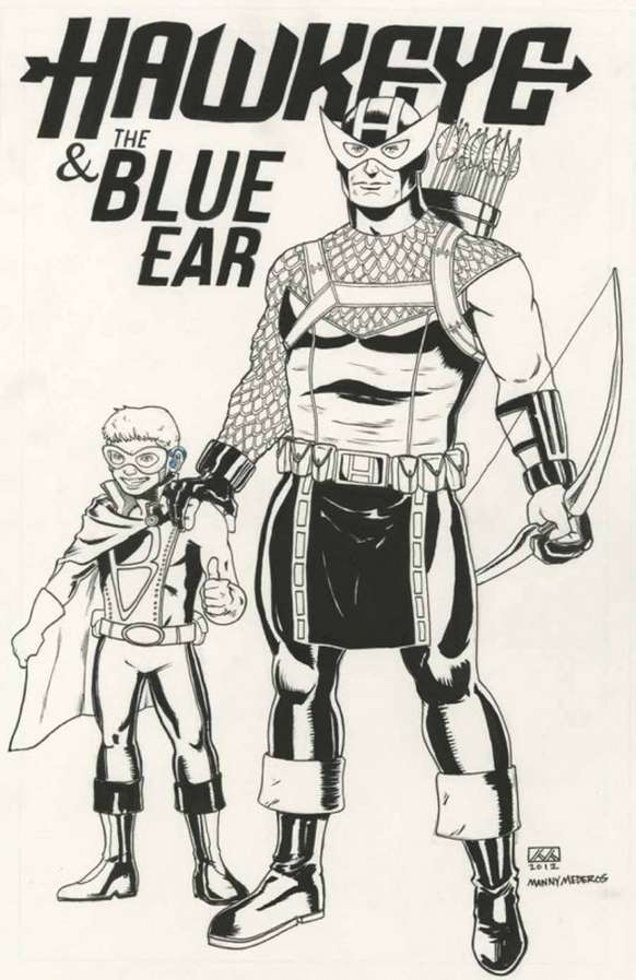 marvel comics created blue ear