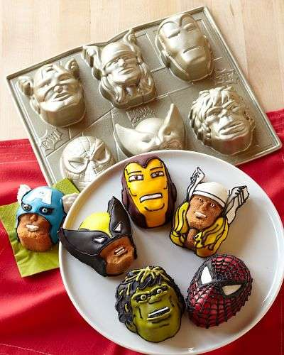 Comic Book Baking Accessories