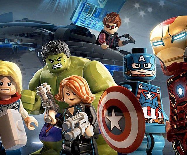 Superhero LEGO Figurines