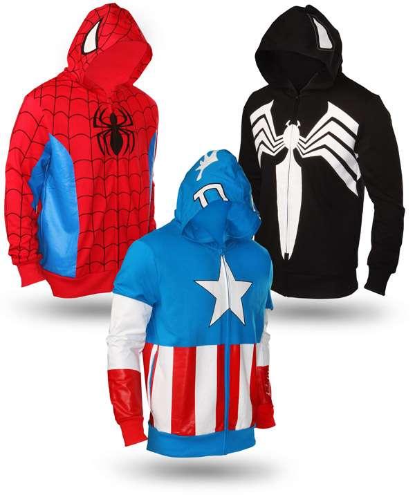 Nerdy Heroic Fashions