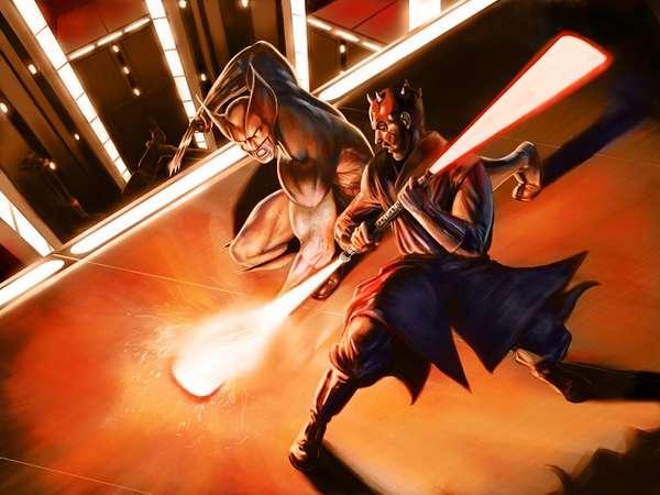 Sci-Fi Comic Book Mash-Ups