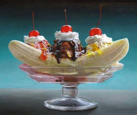 Delicious Dessert Paintings