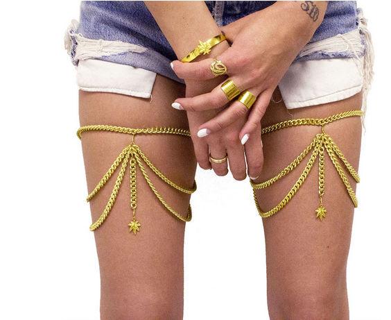 Opulent Leg Adornments