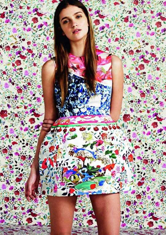 Bulbous Floral Fashions