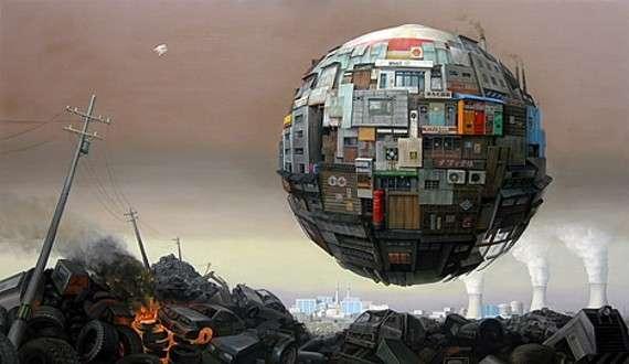 Apocalyptic Sphere Art