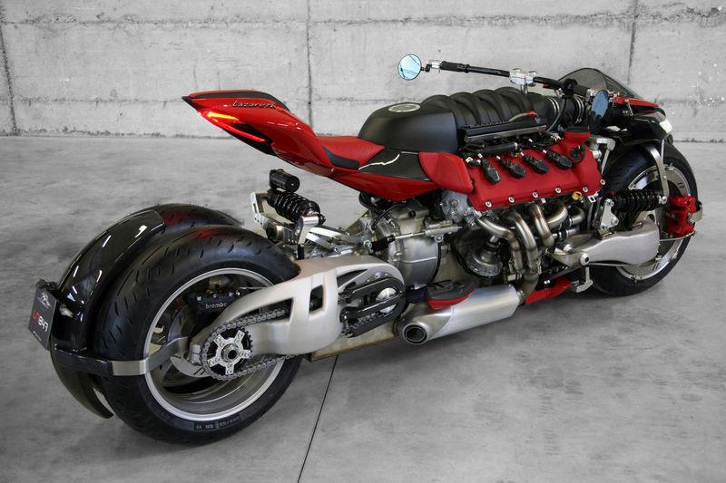 Supercar Motorcycle Concepts