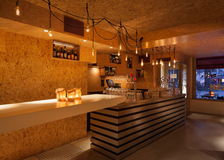 Intimate wooden bars mash bar for Wooden bar design