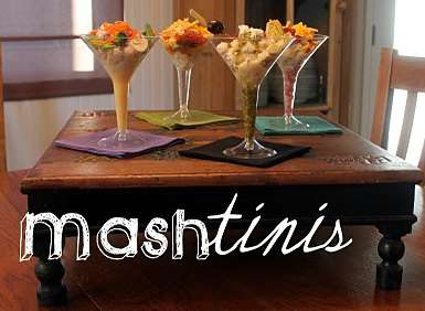 Mashed Potato Martini