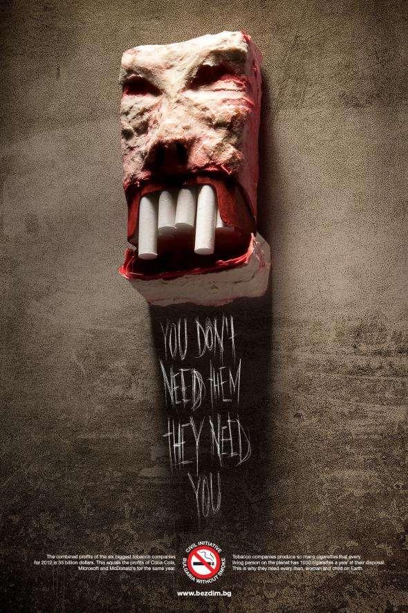 Blood-Sucking Smoking Ads