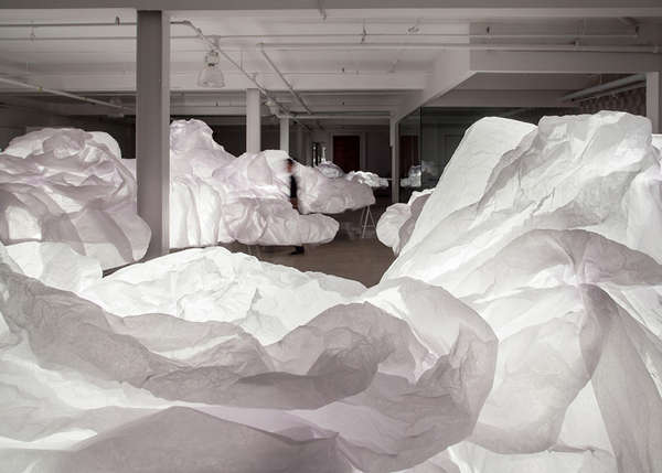 Luminous Cloud Installations