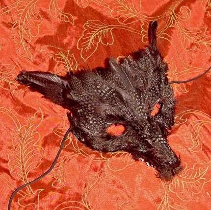 Wolf Masquerade Masks