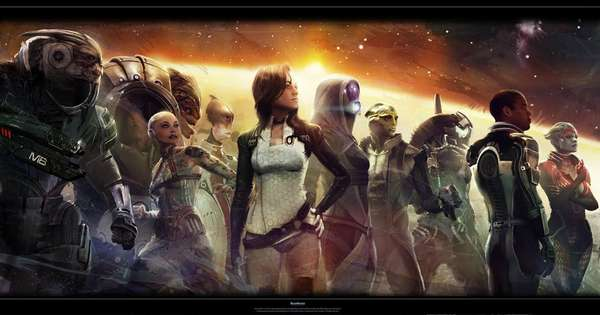 Mass Effect Art