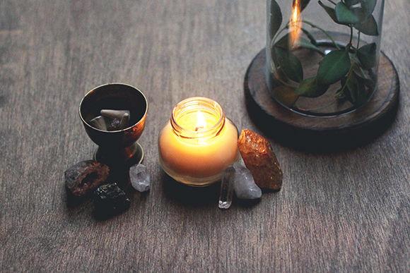 DIY Massage Candles