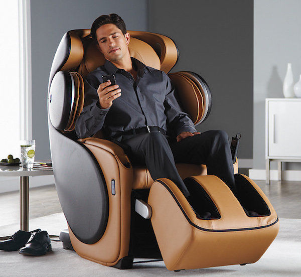 App-Connected Massage Chairs