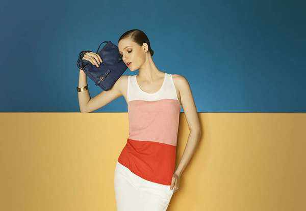 Color-Blocked Lookbooks
