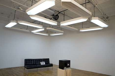 Giant Digital Ceiling Clocks