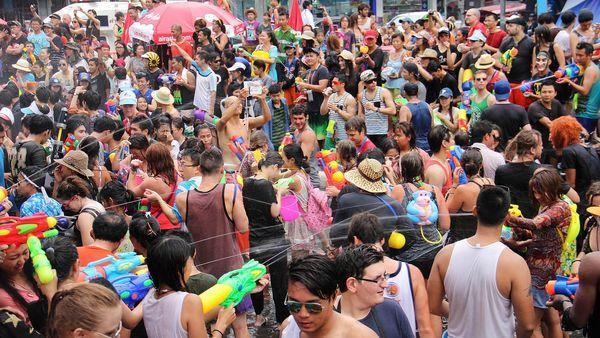 Massive Water Fight Festivals