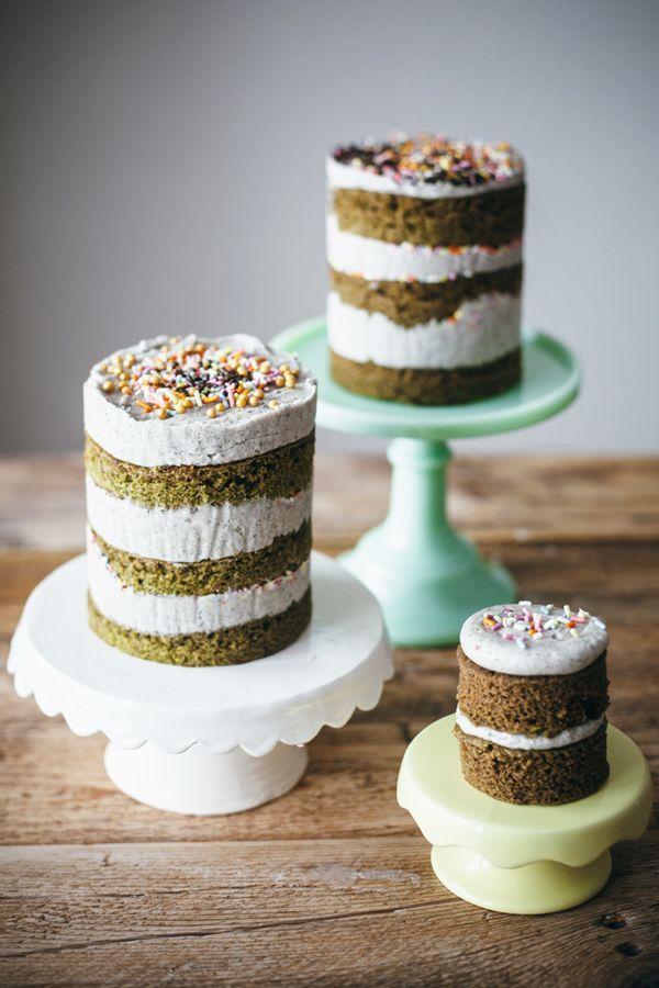 Black Sesame Matcha Desserts