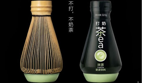 Matcha Milk Tea Packaging