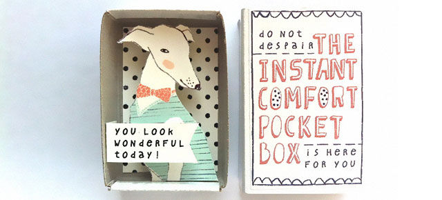 Sentimental Matchbox Greetings