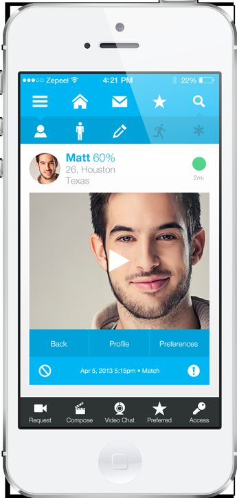 Motion-Filled Matchmaking Apps