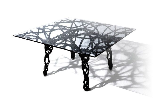 Webbed Wireframe Furnishings