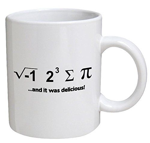 Comical Mathematical Mugs