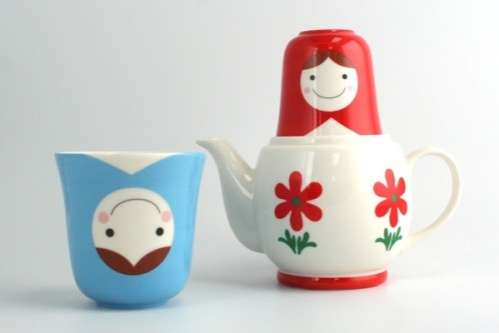 Nesting Doll Tea Sets