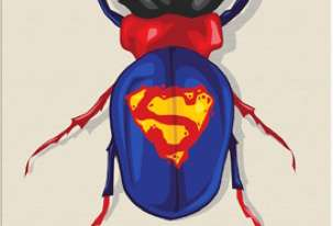 Badass Superhero Beetles