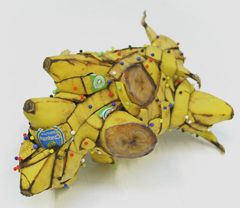 Dismembered Banana Sculptures