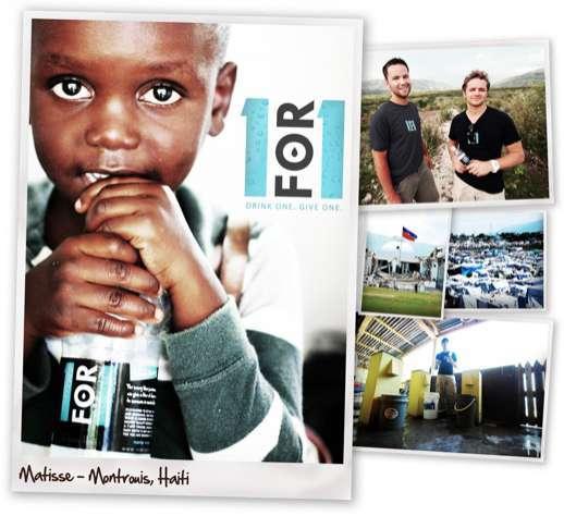 Matt Keller, Founder of 1for1 Water (INTERVIEW)