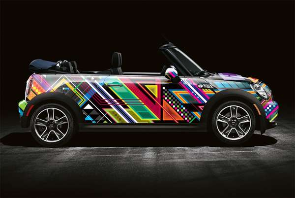 Designer Graffiti Cars
