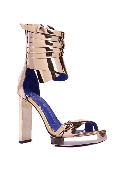 Gilded Gladiator Heels