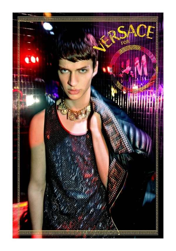 Kaleidoscopic Nightlife Editorials