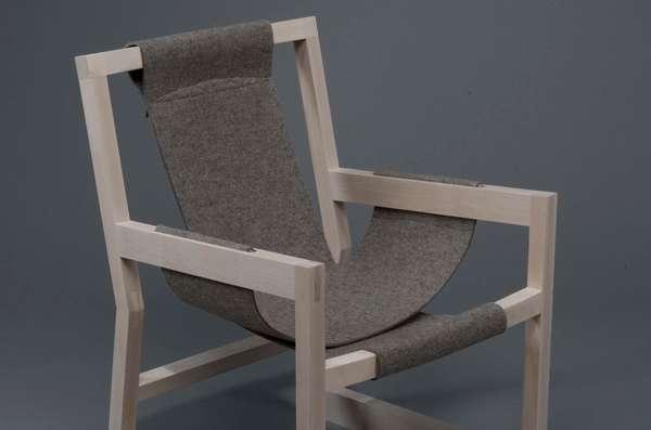 Felt-Slung Seating