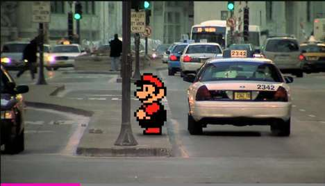 Real-Life Video Game Mashups