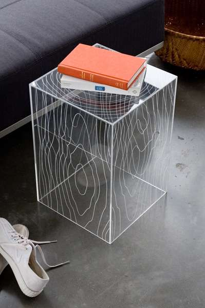 Nature-Inspired Acrylic Furniture