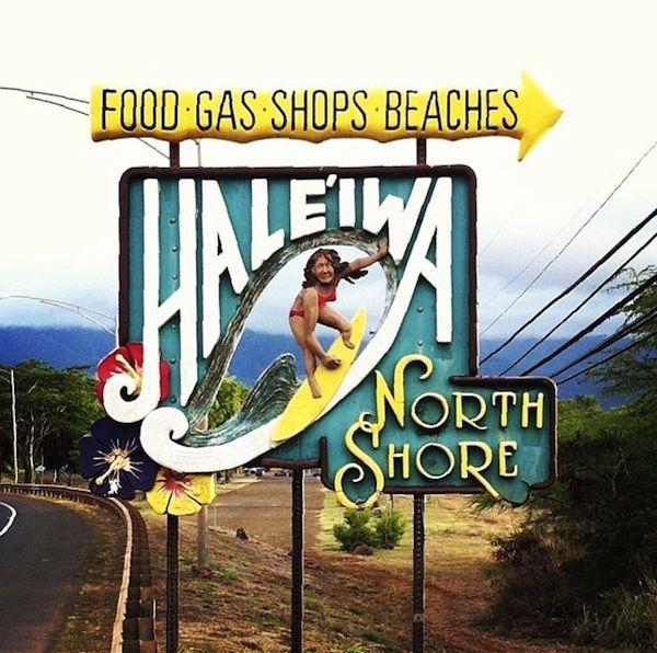 Hawaiian Signage Photography